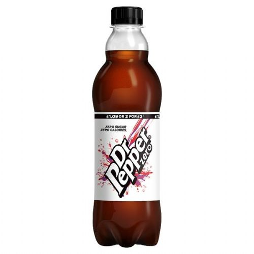 Dr Pepper Zero 500ml PMP £1.15 or 2 for £2.20  (UK)